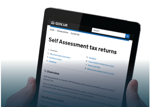 Personal Tax Return Service